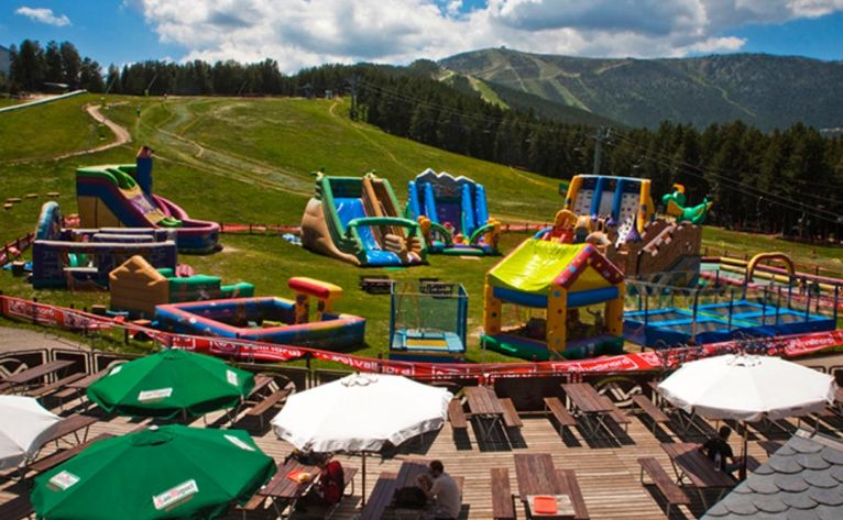 What to do in Andorra with children in summer? Vallnord Agustina Park, in La Coma del Forat (Arcalís)